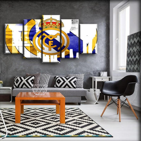 Real Madrid - Strip Logo Design