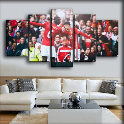 Paul Pogba & Lingard - The Dab - Canvas Monsters