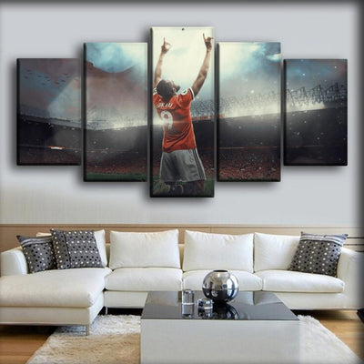 Romelu Lukaku - The Striker - Canvas Monsters