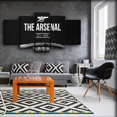 Arsenal - Establish 1886 - Canvas Monsters