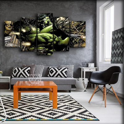 Incredible Hulk - 21 - Canvas Monsters
