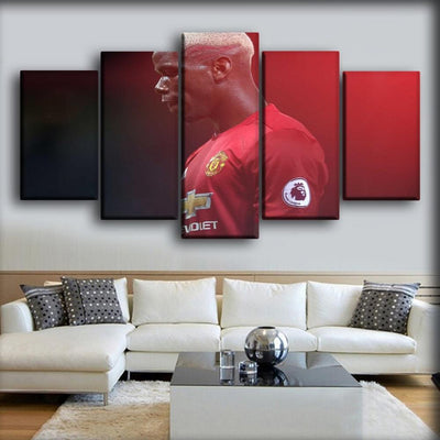 Paul Pogba - #Respect - Canvas Monsters