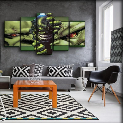 Incredible Hulk - Strip Off The Wall - Canvas Monsters