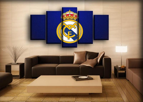 Image of Real Madrid - Royal Blue Madness Background