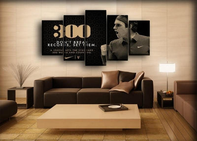 Roger Federer - 12 - Canvas Monsters