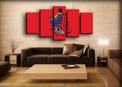 Superman - Making Dinner Funny - Canvas Monsters