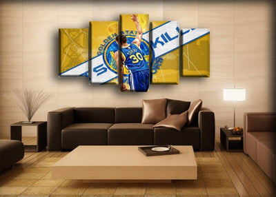Stephen Curry - Three Points Kill - Canvas Monsters