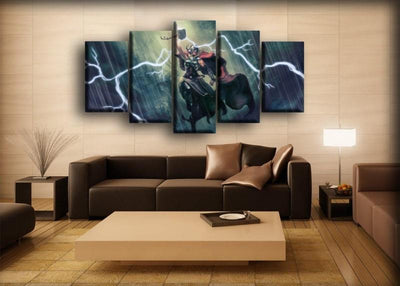 Thor - God of Thunder Game - Canvas Monsters