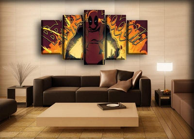 Dead Pool - Walk On Fire - Canvas Monsters