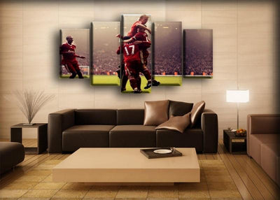 Liverpool - Team Celebration - Canvas Monsters