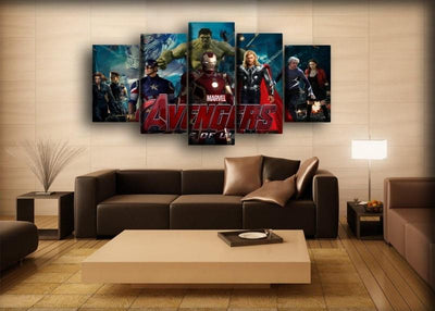 The Avengers - Age Of Ultron - Canvas Monsters