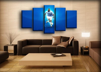 Manchester City - Yaya Toure - Canvas Monsters