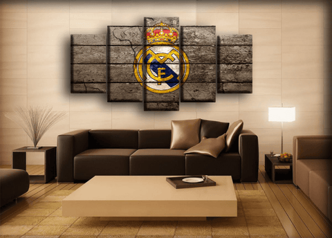 Real Madrid - Retro Wall