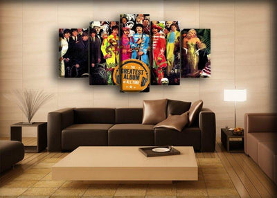 The Beatles - Sgt Pepper's Lonely Hearts Club Band - Canvas Monsters
