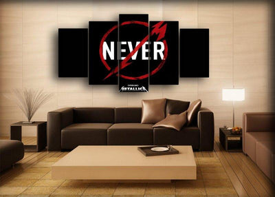Metallica - Never - Canvas Monsters