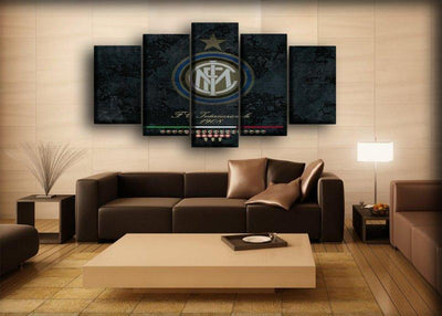 Inter Milan 6 - Canvas Monsters