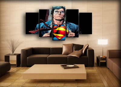 Superman - Clark Kent - Canvas Monsters