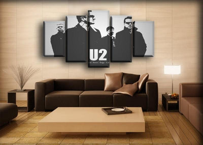 U2 - Adam Bono Edge Larry - Canvas Monsters