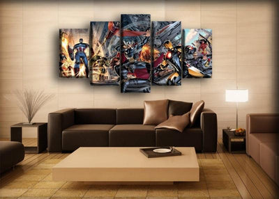 The Avengers - Infinity War Comics - Canvas Monsters