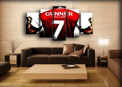 Arsenal - 7 Gunners - Canvas Monsters
