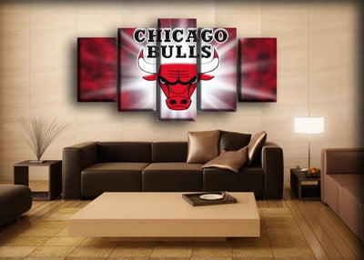 Bulls 4 - Canvas Monsters