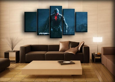 Cyborg - Mother Box - Canvas Monsters