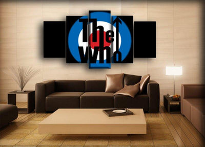 The Who - The Classic Black - Canvas Monsters