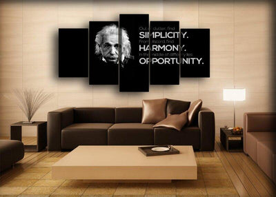 Motivational - Einstein Wisdom - Canvas Monsters