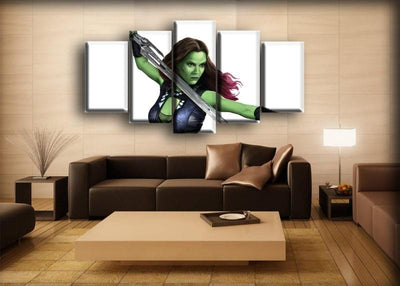 Guardians of the Galaxy  - Gamora - Canvas Monsters