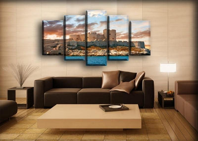 France Castles Sky - Canvas Monsters
