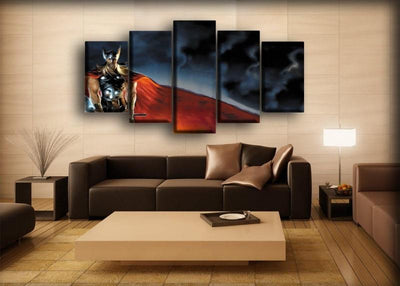 Thor - Comic Art Work - Canvas Monsters