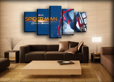 Spiderman - Homecoming Movie Poster - Canvas Monsters