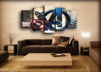 Captain America - Avengers Infinity War - Canvas Monsters