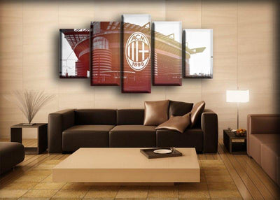 AC Milan 15 - Canvas Monsters