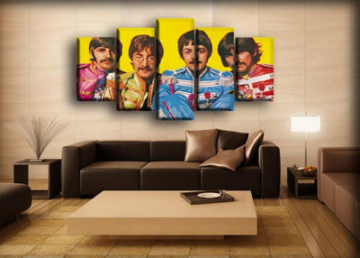 The Beatles - Sgt Pepper Groufie - Canvas Monsters