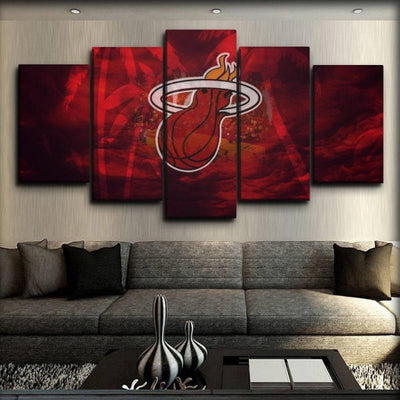 Miami Heat 18 - Canvas Monsters