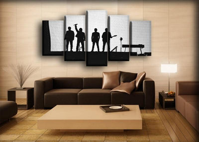 U2 - Silhouette Concert - Canvas Monsters