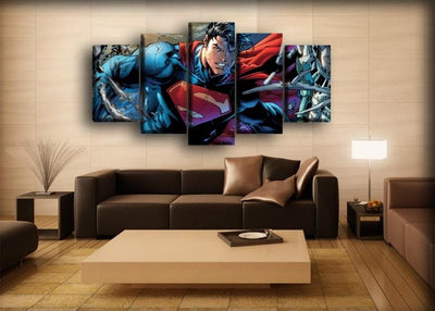 Superman - Strongest Man On Earth - Canvas Monsters