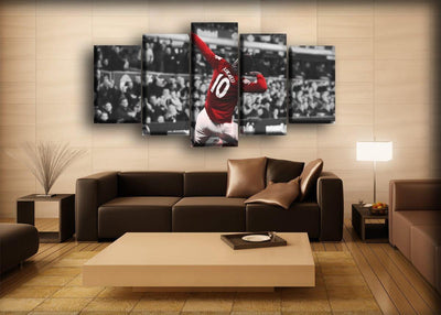 Romelu Lukaku - Sliding Celebration - Canvas Monsters
