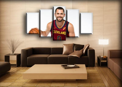 Kevin Love -About To Dribble - Canvas Monsters