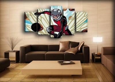Ant man - Avoiding Bullets - Canvas Monsters