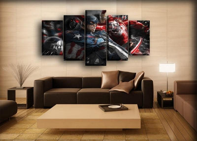 Captain America - Heroes United - Canvas Monsters