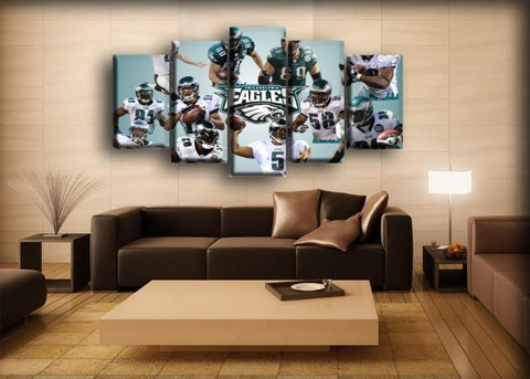 Philadelphia Eagles - Team Canvas