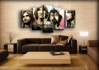 Pink Floyd - Sketch Portrait - Canvas Monsters