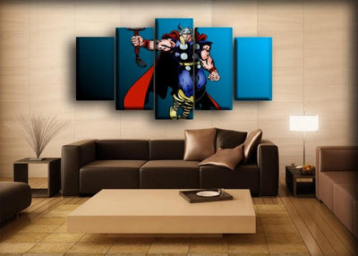 Thor - Comic Version - Canvas Monsters