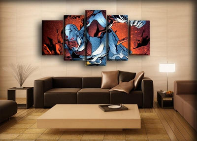 Cyborg - Vs Blue Beetle - Canvas Monsters