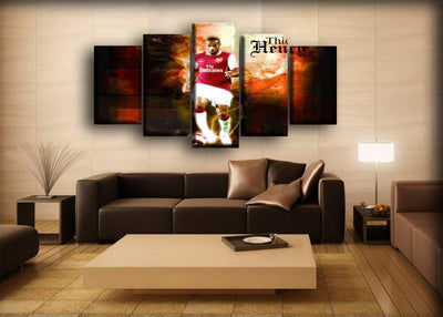 Arsenal - Legendary Henry - Canvas Monsters