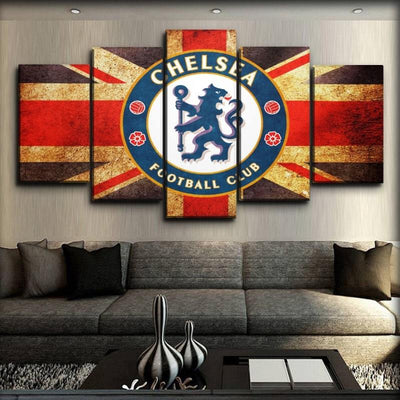Chelsea - King Of England - Canvas Monsters