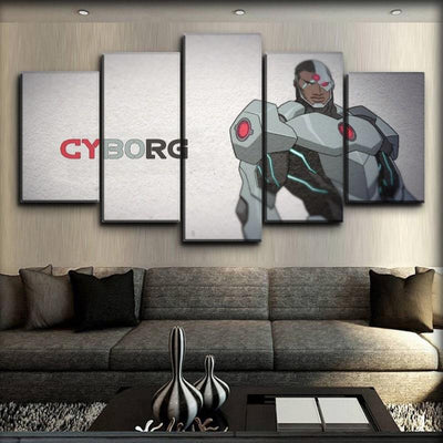Cyborg - Classic Animated - Canvas Monsters