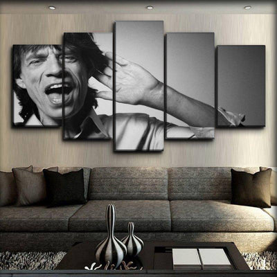 The Rolling Stone - Mick Jagger Forever Young - Canvas Monsters